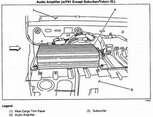 Radio amplifier location 2007 avalanche wiring diagrams for Chevy factory radio