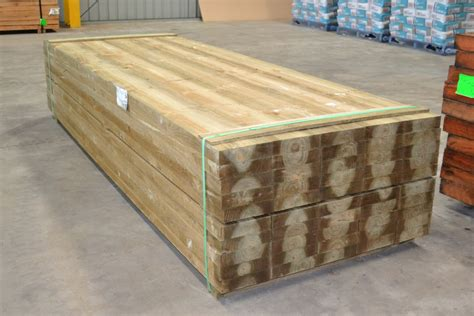 Pine Sleepers by Treated Pine Sleepers 200x50x3000