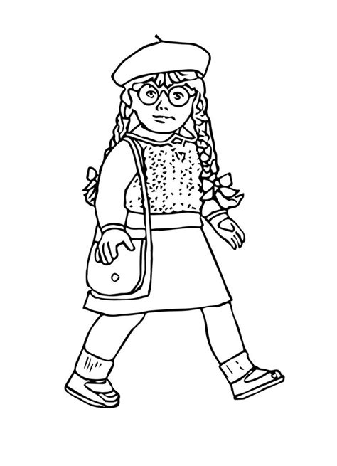 girl doll coloring pages