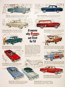 1953 Ford Model Line Vintage Ad  11 Reasons Why Ford U0026 39 S Out
