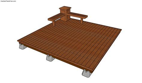 deck plans com deck plans free