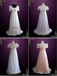 best regency wedding dress ideas on pinterest regency With regency style wedding dress
