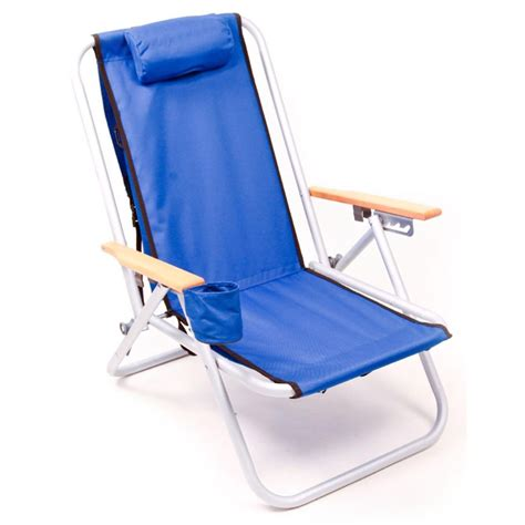 rio brands sc540 4 position aluminum backpack beach chair