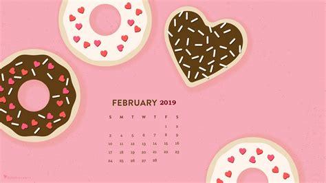 february  hd calendar wallpaper monthly calendar