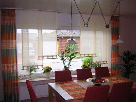 Langer Wohnzimmer Schiebevorhang In Braun