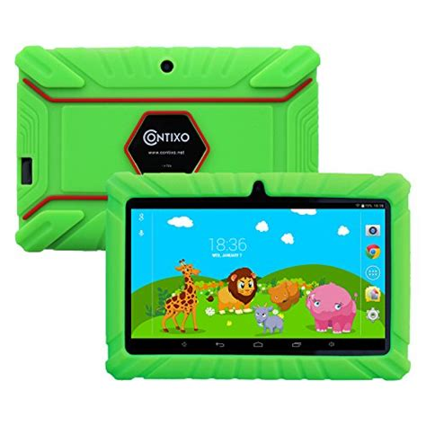 contixo kids safe  quad core tablet gb bluetooth wi