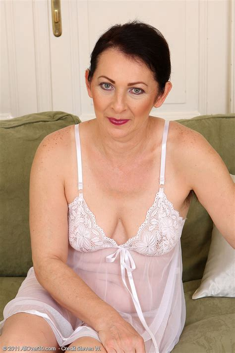 Hot 50 Year Old Anna B From Milfs30 Showcasing Off Her