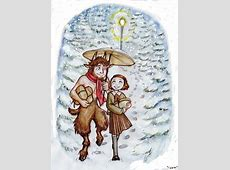 Mr Tumnus and Lucy by Isaia on DeviantArt