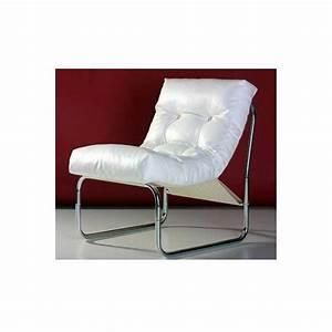 Fauteuil Design Blanc : fauteuil design clip blanc ~ Teatrodelosmanantiales.com Idées de Décoration