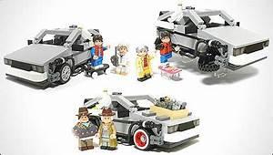 La DeLorean Marty McFly Et Doc Maintenant En Lego