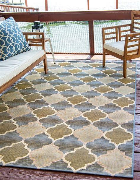 Outdoor Rug 10 X 12 by Beige 10 X 12 Outdoor Trellis Rug Area Rugs Irugs Uk