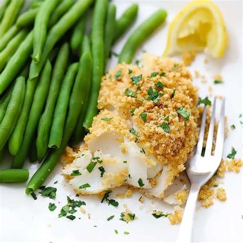 Haddock is a lean white fish with medium flakes (as you can see in the photos below). New England Baked Haddock   Recipe   Haddock recipes, Baked haddock, Recipes