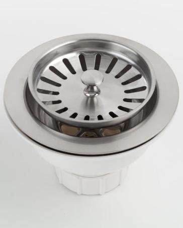 kitchen sink overmount jaclo 2807 adjustable lutz sink strainer for kitchen sinks 2807