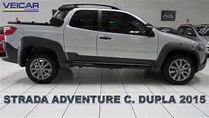 Fiat Strada Adventure Locker C  Dupla 1 8 2015