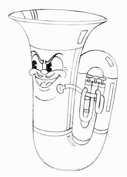 Tuba Funhouse Cuphead Jake Clark Toy Cartoon