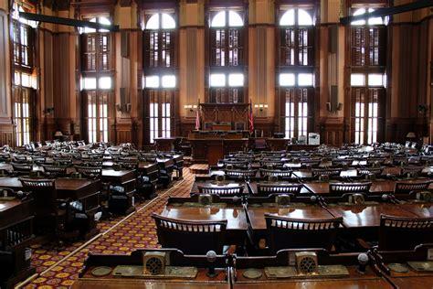 atlanta downtown georgia state capitol house chamber