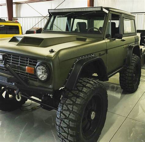 amazing  bronco bovs trailers voiture vehicules