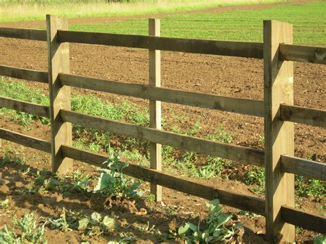 Post And Rail Square Sawn And Mortised  Hartwells Fencing