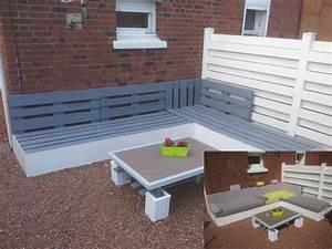garten eckbank aus europaletten balkon pinterest With französischer balkon mit eckbank garten selber bauen