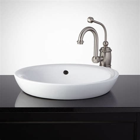 american standard semi recessed sink milforde porcelain semi recessed sink semi recessed