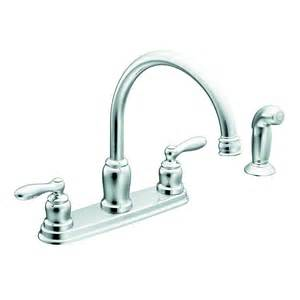 traditional kitchen faucet moen caldwell 2 handle high arc sink counter mount traditional kitchen faucet side spray
