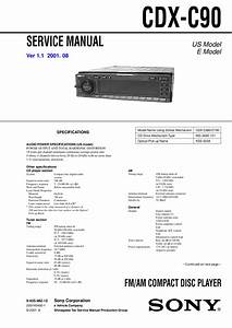 Sony Cdx C680 Wiring Diagram