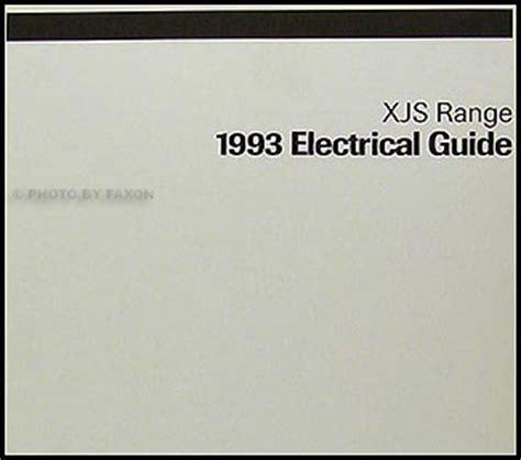 Jaguar Electrical Guide Wiring Diagram Original