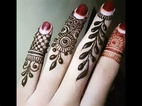 fingers mehandi designs   functions  youtube