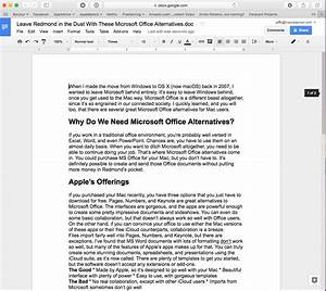 ditch redmond with these microsoft office alternatives for With google documents and data