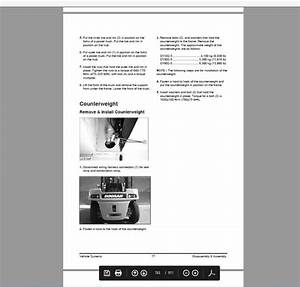 Doosan Infracore Forklift 2009 Service Manual Wiring