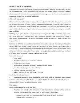 gcu apa simplified gcu reference citation guide