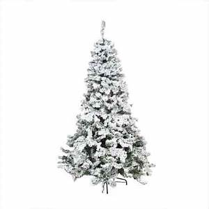 How Many Lights For A 5ft Tree Best Flocked Fake Christmas Trees 2019 Absolute Christmas