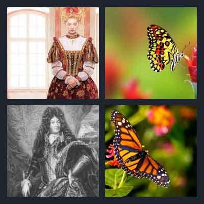 4 pics 1 word 7 letters butterfly 4 pics 1 word answer monarch 4 pics 1 word answers