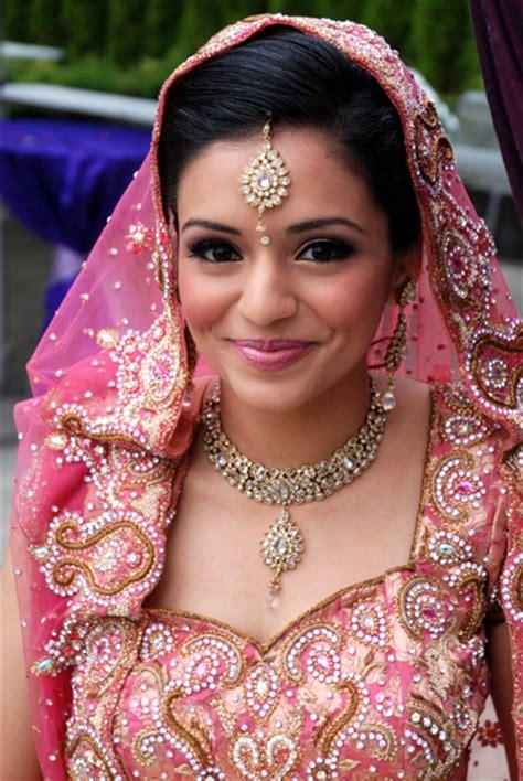 Pretty In Pink Indian Bridal Makeup By Kim Basran Hair