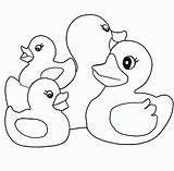 Coloring Duck Rubber Pages Ducky Drawing Animal Printable Bathtub Azcoloring Lucky Ducklings Childrens Popular Sketch Getcoloringpages Getdrawings Template Coloringhome sketch template