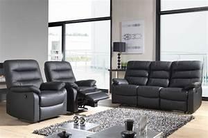 fauteuil relax electrique cameo noir 3500 With chambre à coucher adulte avec matelas accueil moelleux ou enveloppant