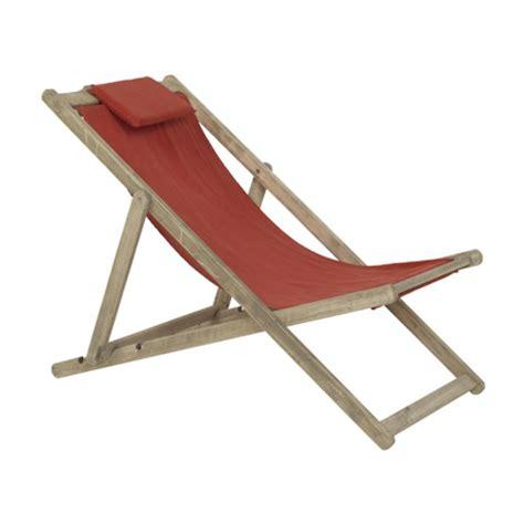 chaise h et h chaise longue de jardin