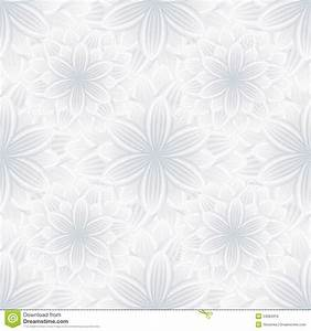 Light Seamless Pattern With Flower Chrysanthemum Stock ...