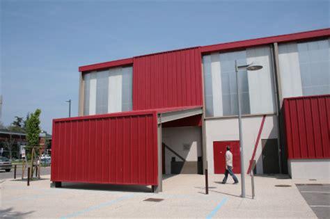 salle de echirolles gymnase et salle des f 234 tes echirolles 38 isit architecture