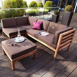 Lounge Gartenmöbel Holz : lounge gartenm bel holz g nstig my blog ~ Indierocktalk.com Haus und Dekorationen