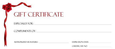 certificate of gift templates free gift certificate template template trakore document