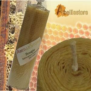 une bougie en feuille de cire gaufree fait main With cire d abeille parquet