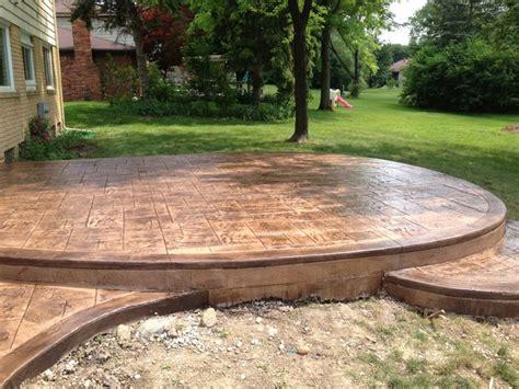 epoxy flooring for patio decorative epoxy floor traditional patio detroit by the concrete doctor