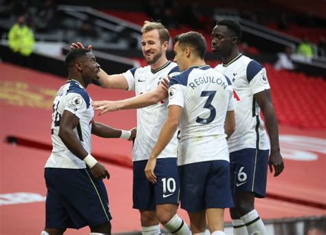 Tottenham Hotspur Player Ratings Vs Manchester United- The ...