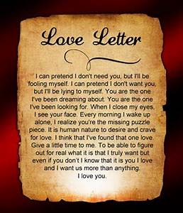 Sad Love Letters for Him / Her, Boyfriend and Girlfriend