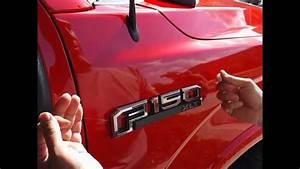 How To Remove F-150 Emblem