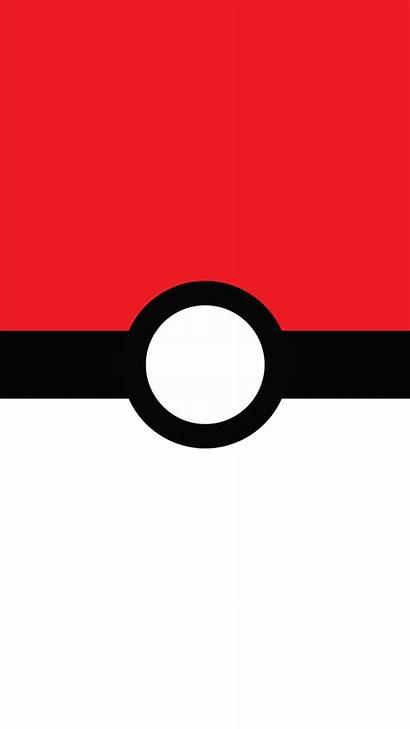 Pokemon Pokeball Iphone Wallpapers Pikachu Ball Minimalist