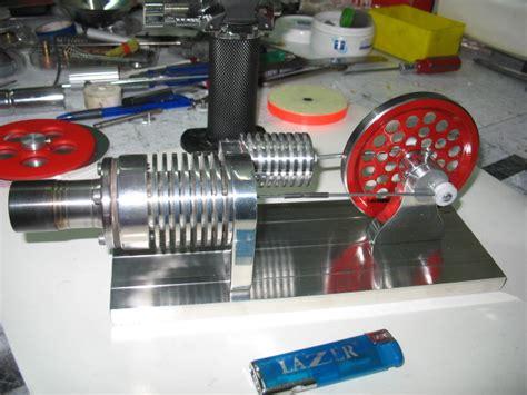 Двигатель Стерлинга не полный 3D модель . Скачать чертежи схемы рисунки модели техдокументацию .