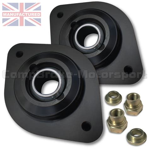 bmw  rear fixed suspension top mount pair  top