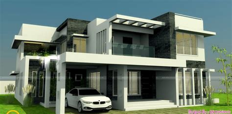 2800 Square Feet 4 Bedroom New Modern Home Design And